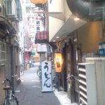 利右衛門 - 路地のお店