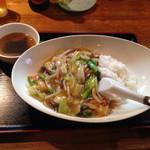 花丘飯店 - 中華飯 750円