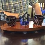 あじめん浦和店 - 日本酒セット