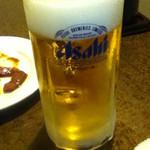 好焼肉 和家 - ドリンク写真:生ビール380円