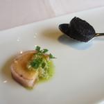 ル ボークープ - 鯛の卵のベーコン巻き ブーダンノワール