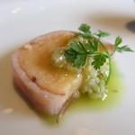 ル ボークープ - 鯛の卵のベーコン巻き