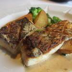 ル ボークープ - 淡路の黒鯛、海老のソース