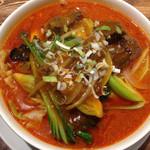 28208815 - マーラー牛肉麺!
