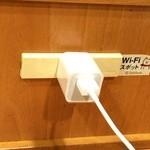 サブウェイ - 店内は、受電可能です