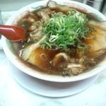 新福菜館 - 新福菜館 三条店の中華そば並600円(12.08)