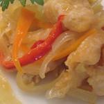 28216112 - 前菜(初夏の白身魚のエスカベッシュ)