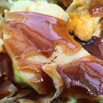 蛸のつぶやき - B級グルメプレート お好み焼き 600円 価格据置