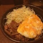 大阪トンテキ - トン玉丼、ごちそうさま!