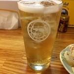立ち飲み とっちゃん - 二杯目は爆弾サワー! キンミヤチューハイ+生ビール。