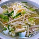 食堂大国屋 - 料理写真:タンメン¥600