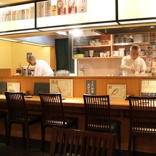 数々の和食店で修行を積んできた料理長による本格和食
