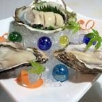牡蠣 HachiRou 86 - オイスター食べ比べ♪