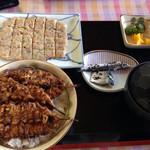 金沢食堂 - 鯵のたたきセット