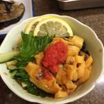 たぬき - ホヤの酢の物