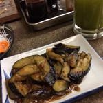 たぬき - 茄子の味噌炒め