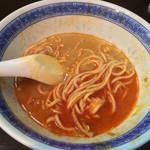 べんてん - 途中でスープ割。(2014年6月)
