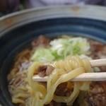 華幸望 - (2014/4月)「高千穂牛めん」の麺
