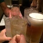 串かつ 関 - 乾杯