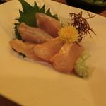 えちごや - 2014' 6/13 金目鯛刺身¥650