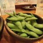 えちごや - 2014' 6/13 枝豆¥380