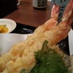 天ぷら食堂 天八 - 大海老天ぷら