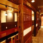 串焼だいにんぐ酒場 トリキン - 古民家の建具を使った半個室
