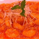 中国料理 シルクロード - エビチリソース炒め