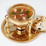 中国料理 シルクロード - フカヒレスープ