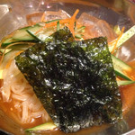 焼肉の七福 - 冷麺