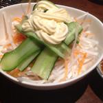 焼肉の七福 - サラダ