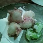 獺 kawauso - 蛸の唐揚げ 塩山椒付き。
