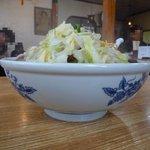 中国菜館 美幸 - 野菜てんこ盛り