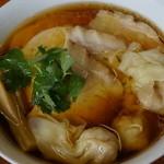 28230188 - 醤油チャーシューわんたん麺(葱抜き) 1,200円
