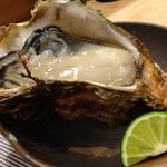 鮨 明 高勢 - 富山産 天然牡蠣