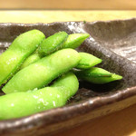 鮨 明 高勢 - 枝豆