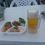 カリーノ宮崎ビアホール - 生ビールにおつまみ