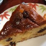 チェリーズ スプーン - ドライフルーツのケーキ