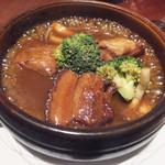 翠蓮 CHINESE RESTAURANT - 豚肉の柔らか煮 唐辛子山椒風味