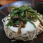 伝兵衛 - 山菜とろろ(冷)