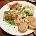 スパイラルキッチン - 前菜盛り合わせ