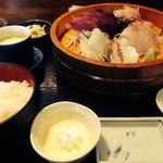 磯料理 海山 - 刺身定食 1000円