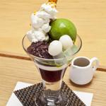 つぼ市製茶本舗 - 抹茶パフェ