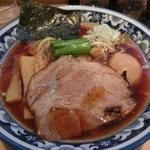 1号ラーメン(750円)+味玉(100円)