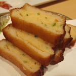 かゆう美酒美食 - 長崎名物のハトシ。