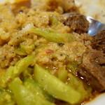 ディラーニさんのスリランカカレー - 混ぜて食べると旨いのです!