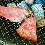 焼肉 清香園 - 炭火で焼きます♪