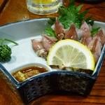萬来 - ホタルイカの刺身