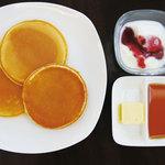 喫茶フェリーチェ - モーニング時間帯はドリンク料金プラス140円でご提供できます。