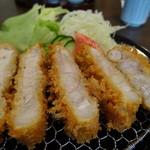 かつ善 - ロースカツ(120g)1300円